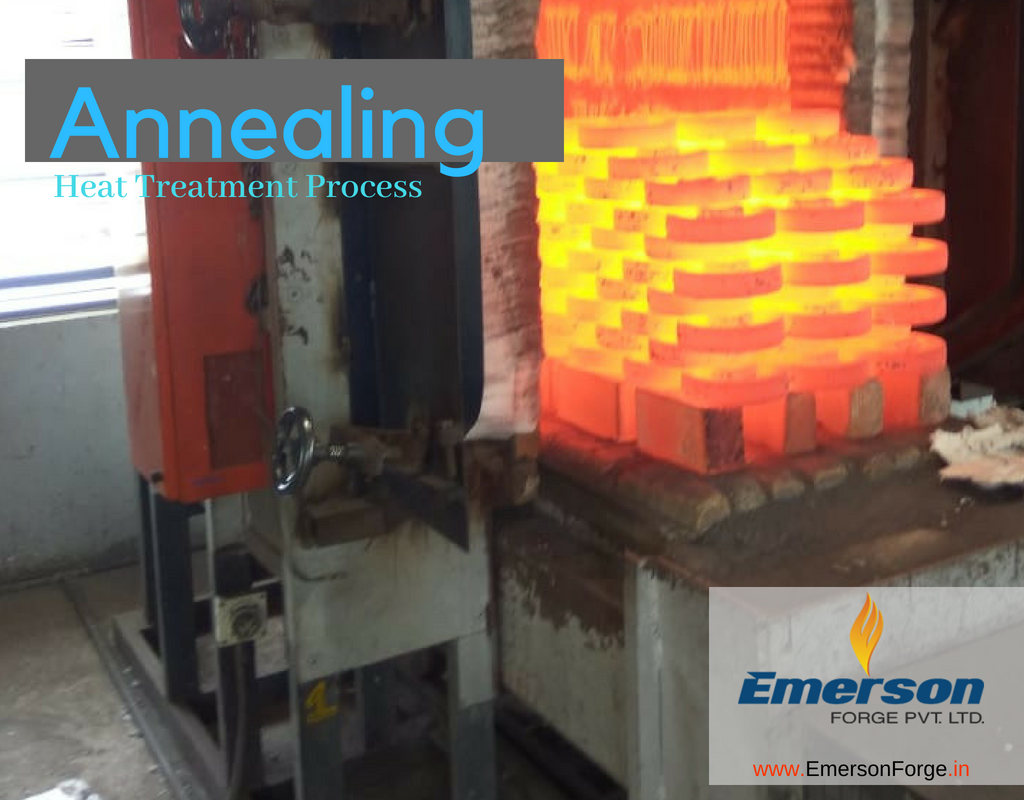 ANNEALING- Forging Heat Treatment Forging Company India -Emerson